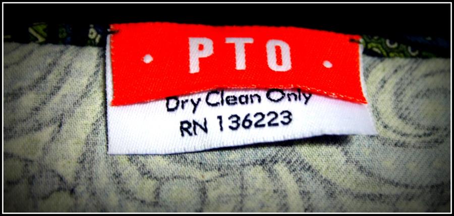 The PTO label.